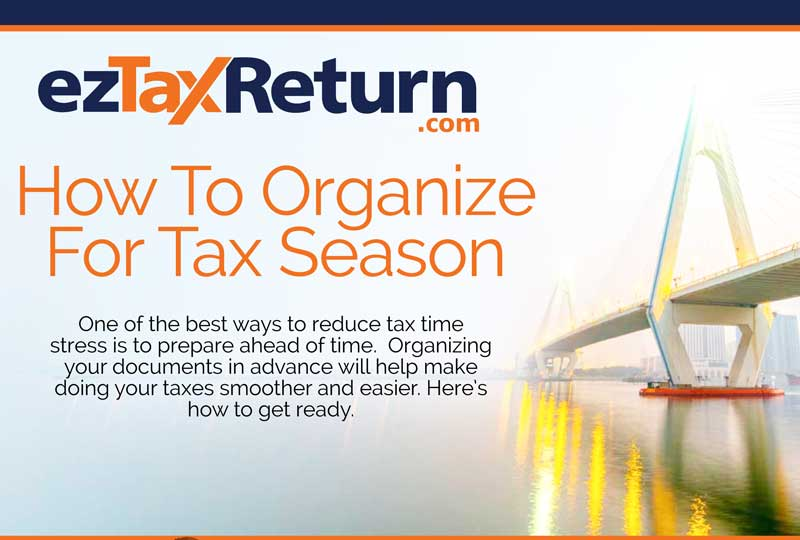 How to Organize for Tax Season