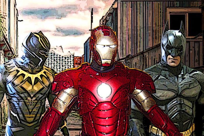 Who Are the Richest Superheroes?