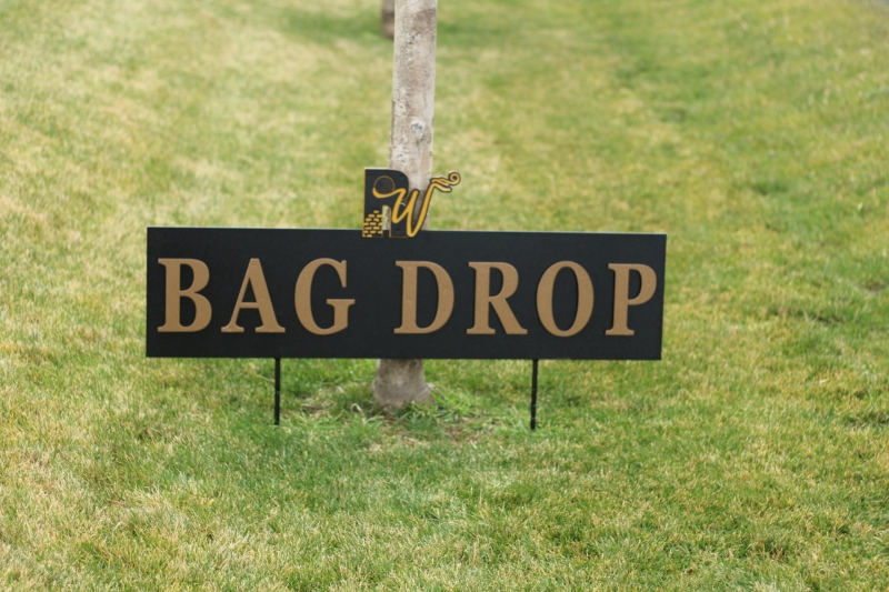 Bag Drop Signs -Rockwind