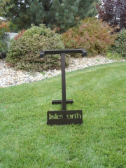 Golf Course Bag Stand -Isleworth