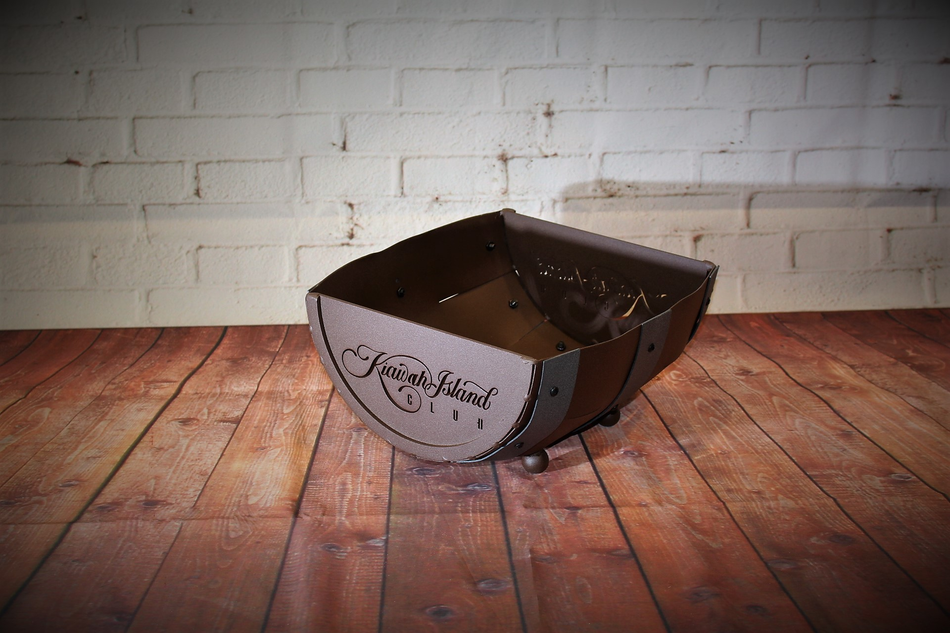 Half Barrel Ball Baskets -Kiawah Island