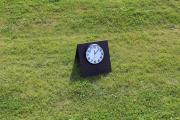 A-frame driving range clock -Cordillera Ranch