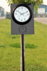 Clock Sign -Country Club of Misouri