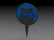 Bear Tee Marker