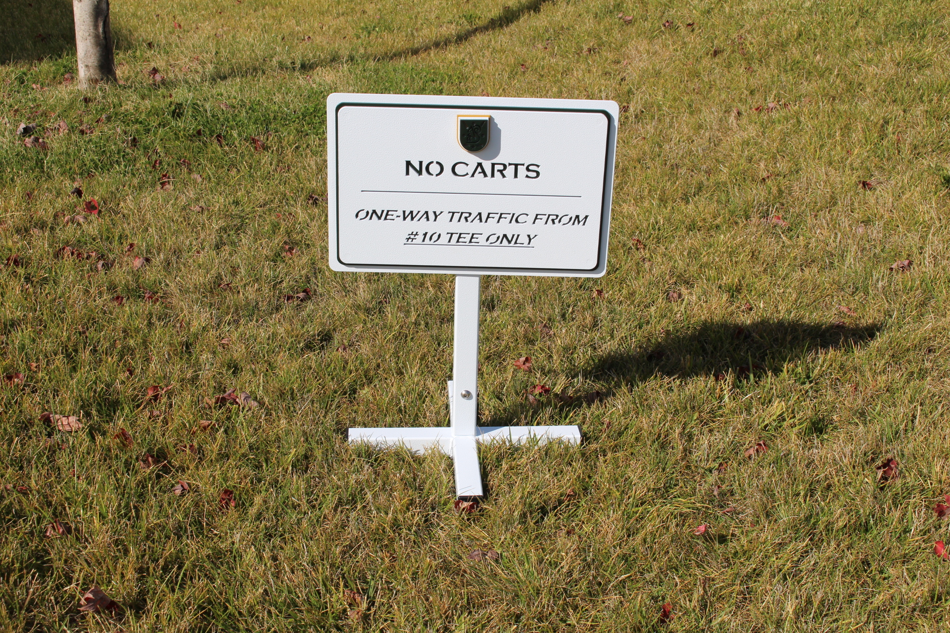 Directional SIgn -Brook H ollow GC