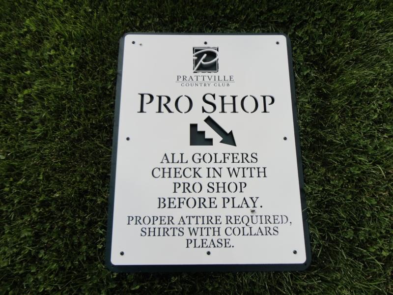 Golf Course Directional Signage -Prattville