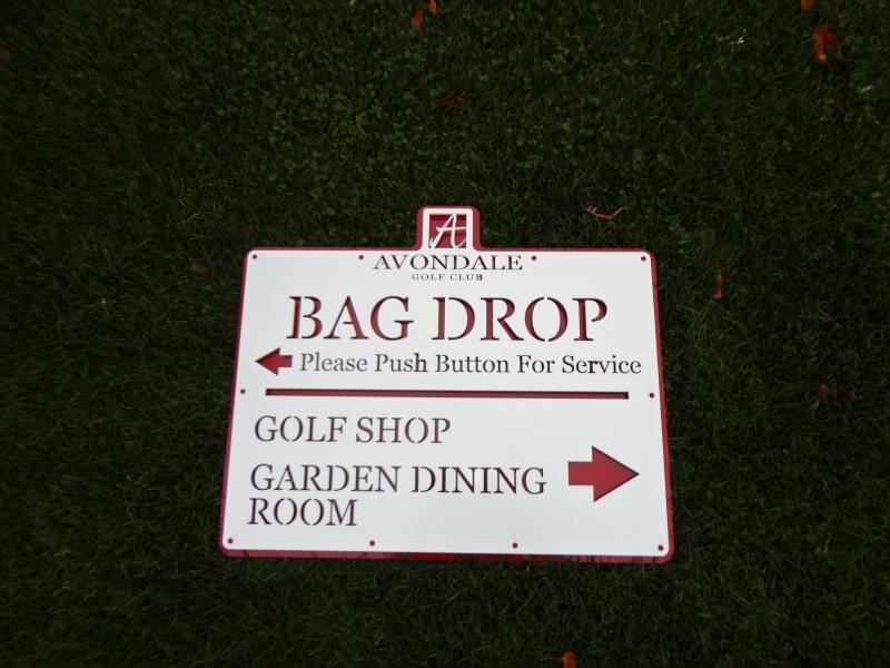Golf Course Signage -Avondale