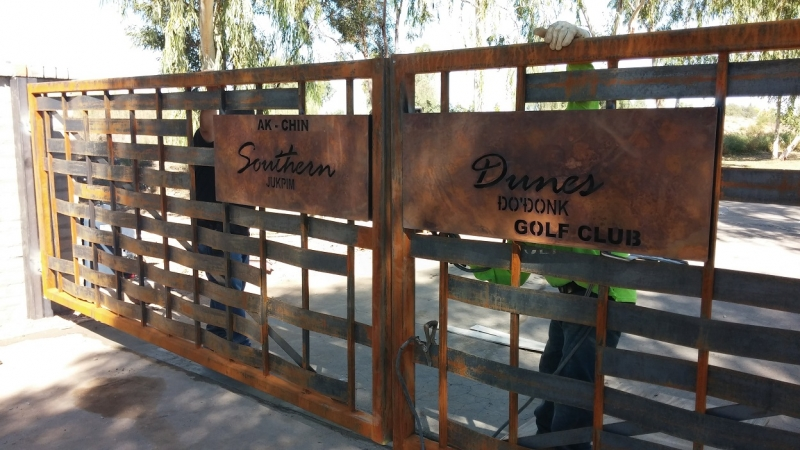 Entry Signs for Southern Dunes