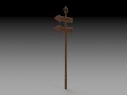 Arrow-Directional-Square-Bar-Sign