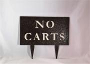 Cart Directional Sign -Mountaintop