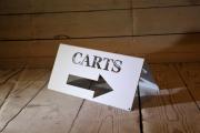 Cart Directional Signs -Sun City