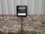 Custom Golf Course Signage -Parking Lot