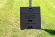 Golf Course Directional Signage -Rockwind