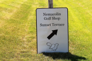 Golf Course Directional Signs -Nemacolin