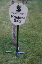 Golf Course Directional Signs -Sonoma