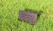 Golf teaching signs -Frenchman's Reserve