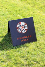 Members Only Sign -Whirlwind GC