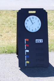 A-frame Range Sign
