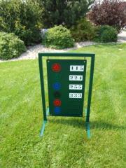 Driving Range Sign -Argyle