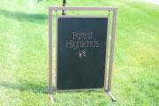 Driving Range Signs Forest Highlands (2)