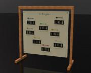 Hideaway Range Yardage Sign - numbers