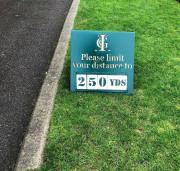 Inglewood Distance Sign