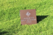 Reserved-Golf-members-Only-Sign-Verde-River