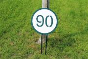 Small Yardage Signs