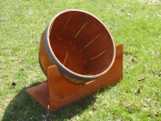 Driving Range Barrel Target