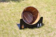 WIne barrel range target -Tam O'shanter