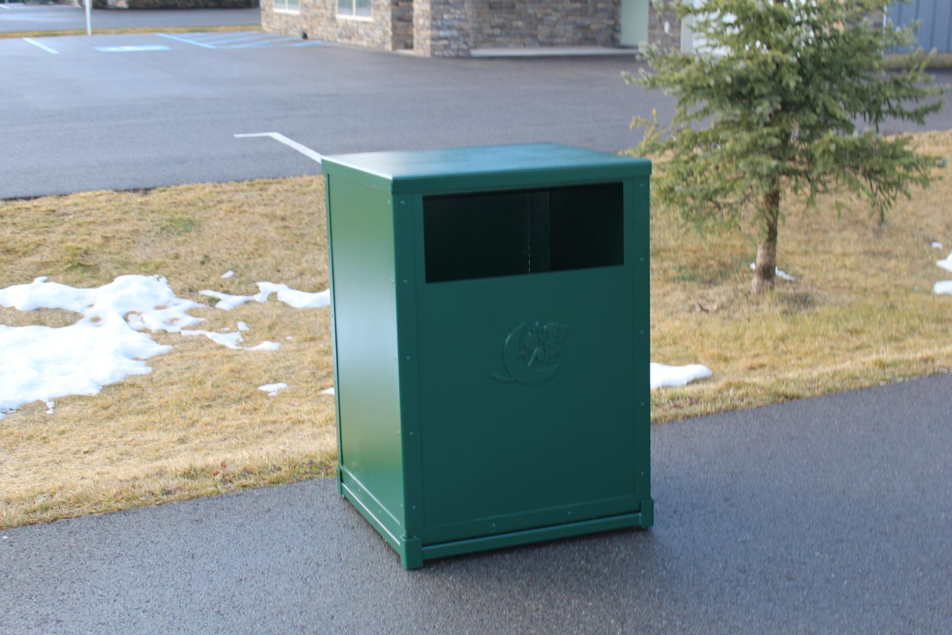 Trash Can Enclosure -Mayacama