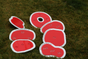 In-Ground Yardage Plates -Blue Jack National (2)