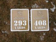 In-Ground Yardage Plates--Seaview