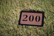 In-ground Yardage Markers -Rolling Hills