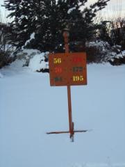Hideaway Par 3 Sign