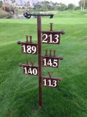 Par Sign -Hideaway Golf Club
