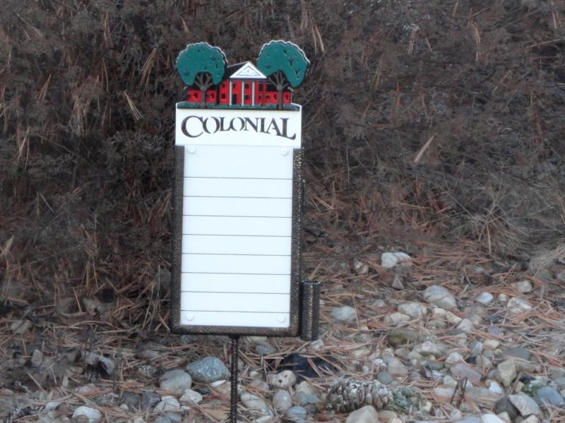 Custom Proximity Marker -Colonial