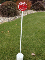 Mini Flagstick- Cedars