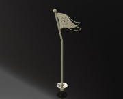 Putting Green Flagstick -Rumson