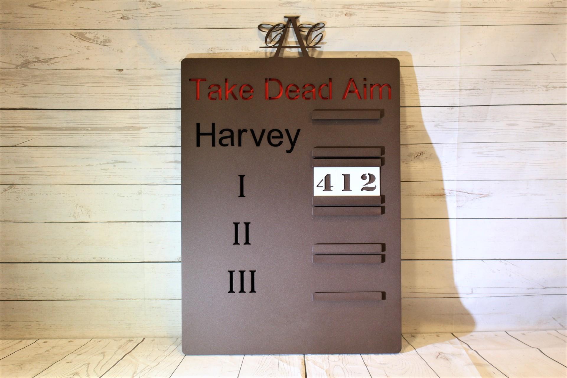Yardage-Sign-Austin-Country-Club