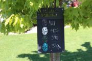 Chalkboard Range Sign -St. James Plantation
