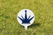 Tournament Tee Markers -THE CROWN CUP