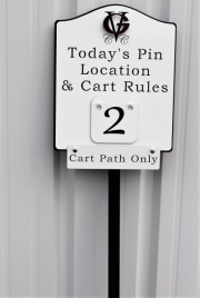 Pin Location Sign -Grayson Valley
