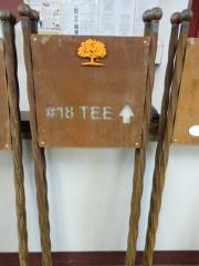 Tee Directional Sign- Carmel Creek