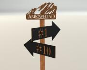 Tee Signs for Arrowhead