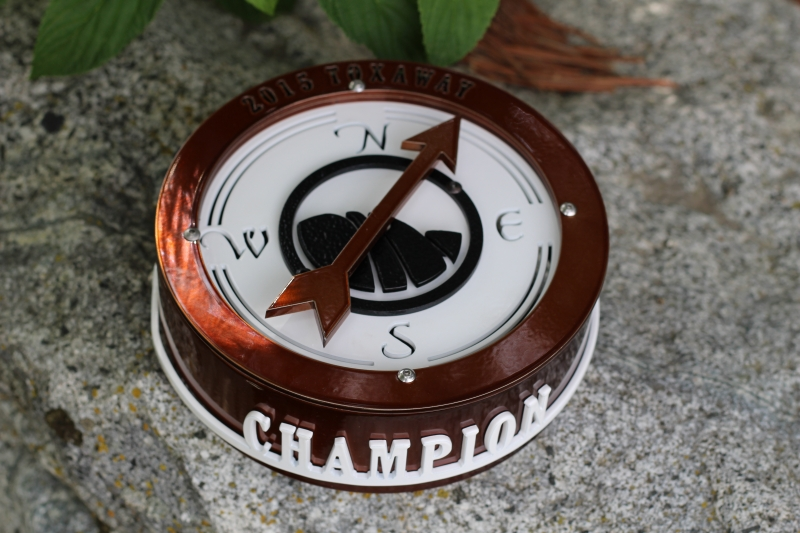 Compass Trophy -Cliffs at Keowee Vineyards