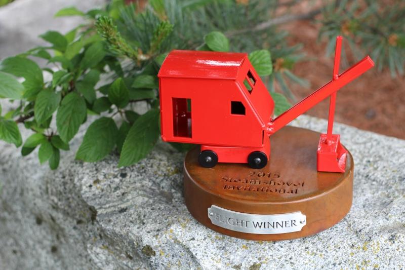 Golf Flight Winner Trophy -Whipporwill Steamshovel