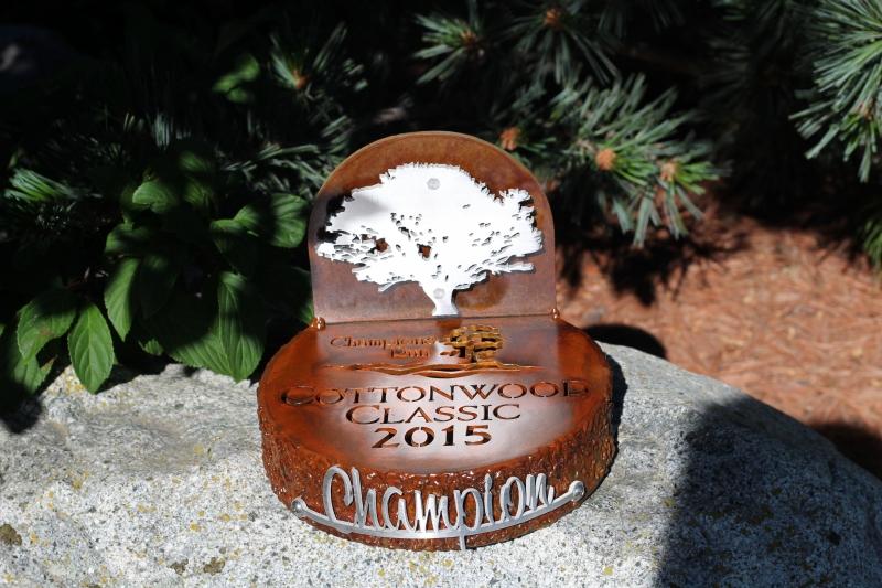 Golf Tournament Prizes -Champions Run
