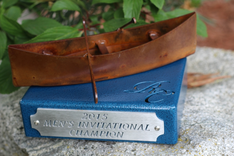 Men's Invitational Canoe Trophy -River Club