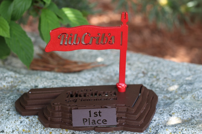 Rib Crib Masters Golf Tournament Award